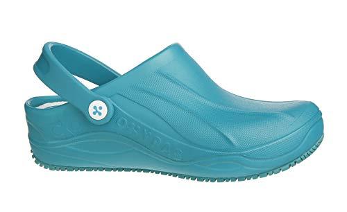 Oxypas Smooth, Unisex Adults' Safety Shoes, White (Egn), 9 UK (43 EU)