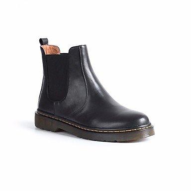 Stivali da donna Spring Comfort PU Casual Black Black