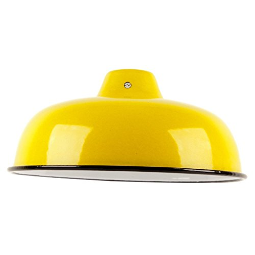 vintage-antique-style-industrial-reproduction-retro-metal-lampshade-with-yellow-enamel-finish