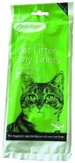 Large Cat Litter Tray Liners (12 Packs of 6) from Armitage