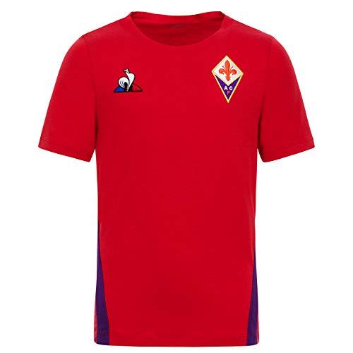 Maglietta Uomo Le Coq Sportif Fiorentina Training Tee SS M Cyber Grape