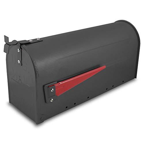 US Mailbox Amerikanischer Briefkasten Standbriefkasten Wandbriefkasten Letterbox Schwarz - 2