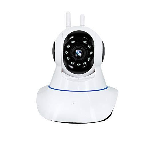 YKDWS WiFi Innenüberwachungskameras automatisch IP-1080P Wireless Home Security Kameras, 3D-Navigation, Nachtsichtgeräte, Bewegungserkennung, geeignet für zu Hause/Büro (weiß) verfolgen