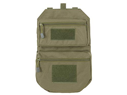 8 FIELDS Assault Back Panel Sac à Dos pour Gilet 2 Airsoft/Camping - Olive