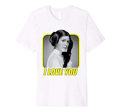 Star Wars Princess Leia I Love You Valentine's Day - Star Strike Kostüm