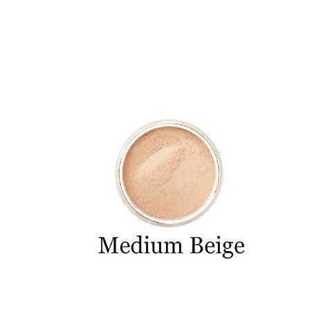 Mineralshack MEDIUM BEIGE MATTE 12gram sifter jar foundation natural mineral powder