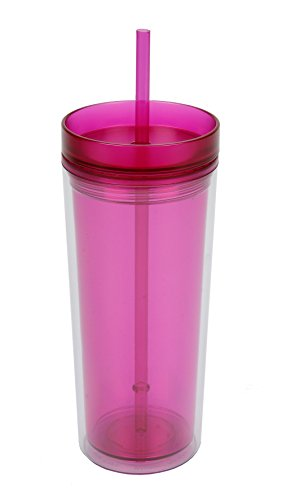Polar Gear Frosted Soda Tumbler, Berry, 500 ml by Polar (Womens Hard Cap)