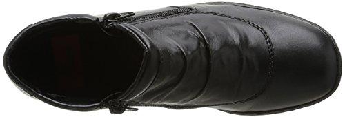 Rieker L6052-00, Bottes Classiques Femme Noir
