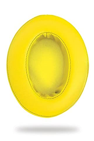 Ohrpolster Brainwavz HM5 - Kunstleder - gerade - gelb (earpads - pleather - not-angled - yellow)