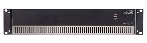 AUDAC CPA36 1.0 Home Wired Black audio amplifier - audio amplifiers (1.0 channels, 360 W, A/B, 1%, 90 dB, 10 Ω)