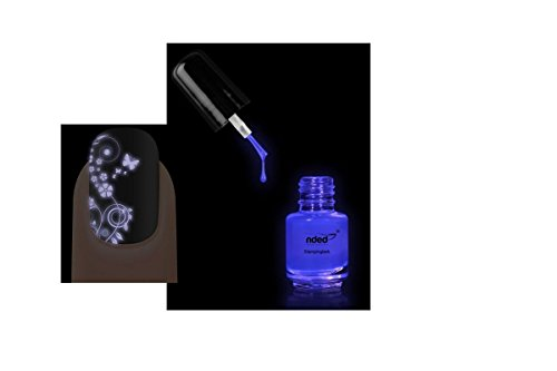 Vernis stamping UV ultra violet BlackLight nail art - Nded - 5ml - Ref8960