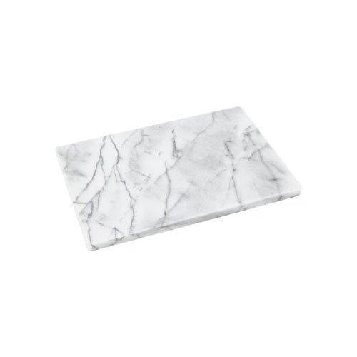 Horwood Marmor Poliert Weiß-30cm x 20cm-Bord