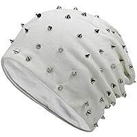 Reine Farbe Herbst und Winter Nieten Nähen Schal Mütze Südkorea Trend Hood Mütze Wind Cap Kappe