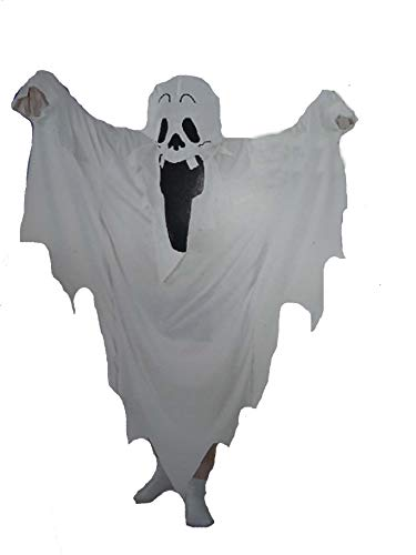 Ghost Robe Instant Child Fancy Dress Costume One Size