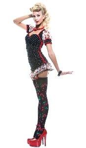 Paper Magic sexy Pin up Girl Kostüm für Erwachsene - - Sexy Pin Up Girl Kostüm