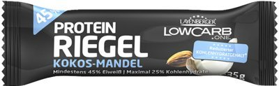 Layenberger Fit+Feelgood Low Carb Kokos-Mandel Protein-Riegel, 35 g