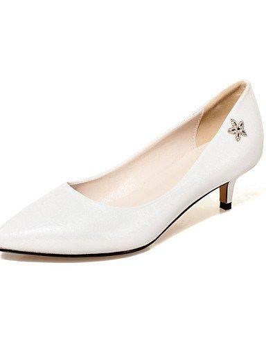 WSS 2016 Chaussures Femme-Bureau & Travail / Habillé / Décontracté-Noir / Bleu / Rose / Rouge / Blanc-Talon Aiguille-Talons / Confort / Bout Pointu black-us7.5 / eu38 / uk5.5 / cn38