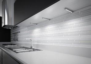 Domus Line Lampada LED per Cucina con Dimmer e convertitore, Set di 3