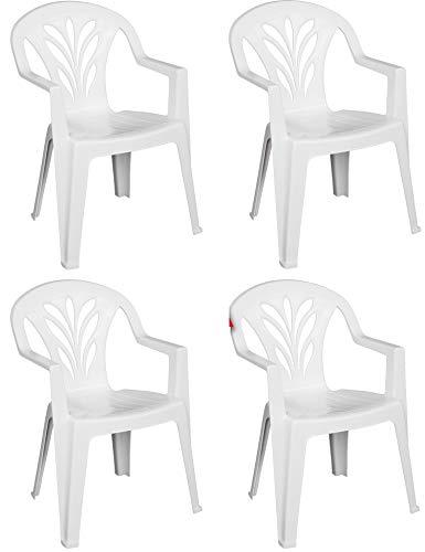 Sedie Di Plastica Bianche.Sedie Plastica Bianca Braccioli Usato Vedi Tutte I 61 Prezzi
