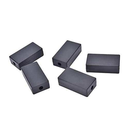 Instrument Parts & Accessories - Diy 5 Pcs Lot 55 35 15mm Black Enclosure Instrument Case Plastic Electronic Project Box Electrical - Magnetic Project Box Parts Car Power Enclosure Case Plast -