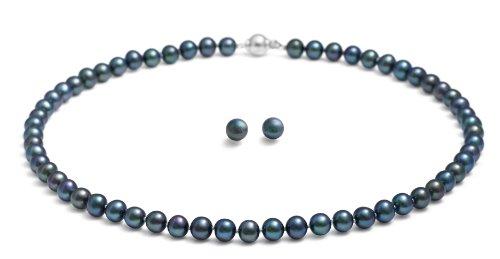 rolicia-aaa-grade-8-9mm-18inches-45cm-swasser-kultiviert-schwarze-perle-halskette-passenden-ohrsteck