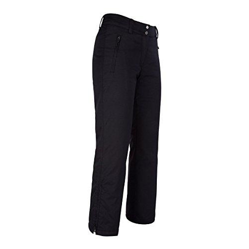 Fera Skihose (Fera Damen Basic Insulated Pant, Damen, schwarz, Size 4/Short)