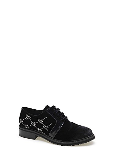 Apepazza CMB03 Lace-Up Heels Frauen Schwarz