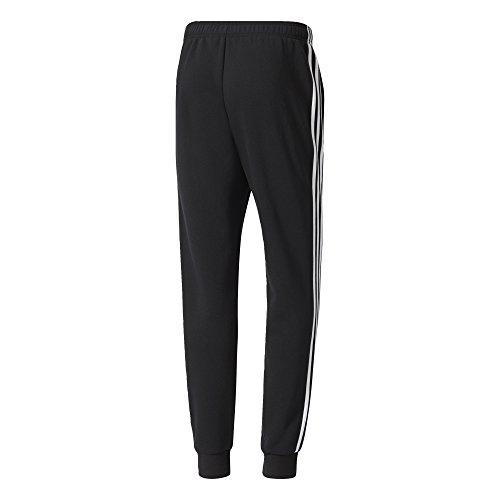 adidas Herren Essentials 3-Streifen Jogginghose Black/White