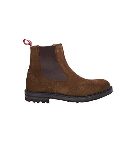 GREEN-GEORGE-Herren-Veloursleder-Boots-in-Braun