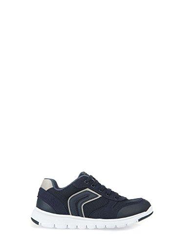 Geox J Xunday B Garçons baskets Bleu