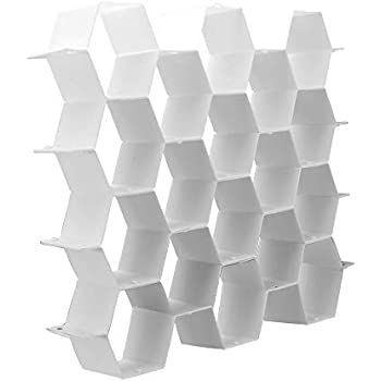 Bujingyun Honeycomb Drawer Organizer-2PCS