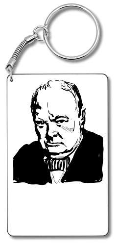 Winston Schlüssel (Winston Churchill United Kingdom Prime Minister Schlüsselbund Schlüsselbund)