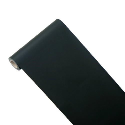 JUNOPAX 43736237 Geschenkpapier 50m x 0,40m schwarz -