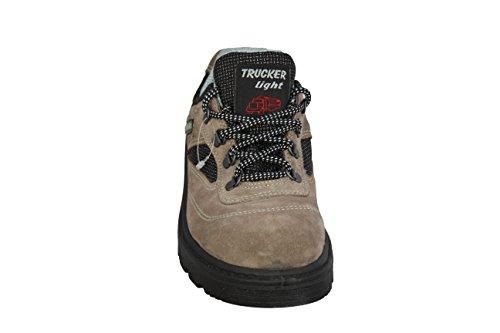 Trucker , Chaussures de sécurité pour homme Beige