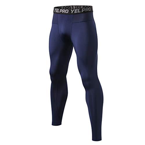 RANTA 2020 Neujahr Herren Kompressionshose Camouflage Leggings Tights Lang Hosen für Sport, Training, Fitness, Fitness, Laufen, Radfahren, Yoga, Wandern, Basketball Sweatpants