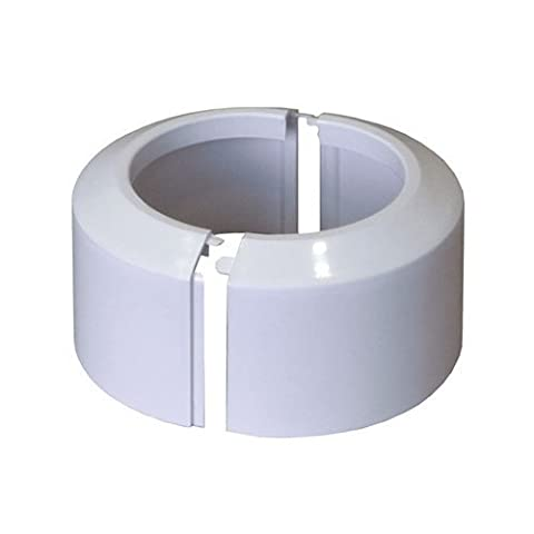 High Split Two-Piece White WC Toilet Rosette Soil Pipe Connection
