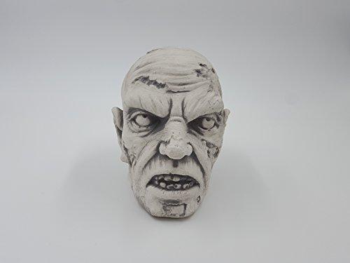 Halloween Wichtel (Totenschädel Zombie-Schädel Schädel Halloween Skelett Dekoschädel Steinguss)