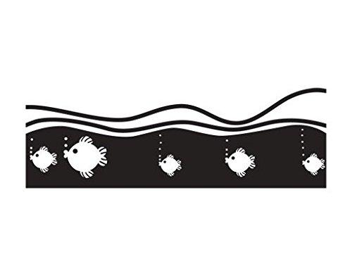 Apalis Rollo Keine. UL946Fishie I Selbstklebende Sichtschutzfolie 5Farben Fenster Film Folie Glas dúcor Blickdicht Badezimmer Glas Film Farbe: erfrischendes Minz, Maße: 80cm x 187cm