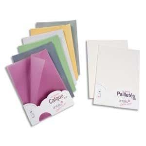 Antalis Collection - Paquet de 25 feuilles papier calque A4 - 100g - vert