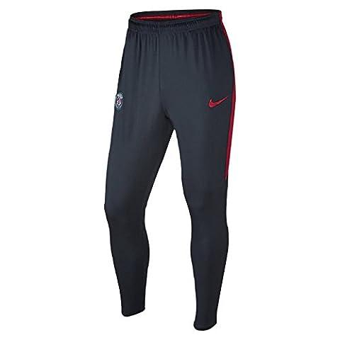 Nike - PSG M PANT SQD KPZ - Pantalon - Bleu - M - Homme