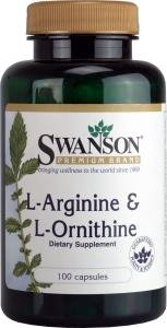 Swanson L-Arginine & L-Ornithine (100 Capsules) from Swanson Health Products
