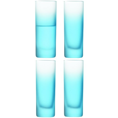 LSA International 80 ml Haze cristal Vodka, azul