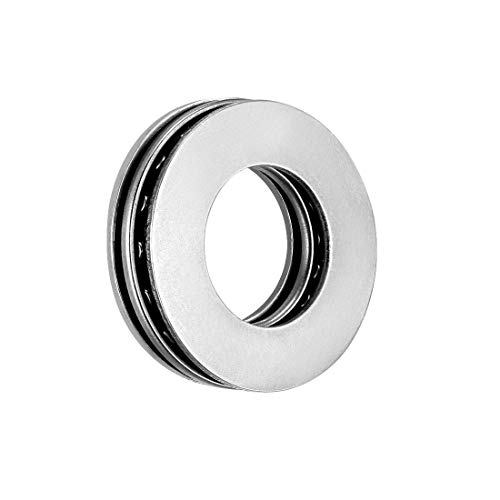 ZCHXD AXK1528+2AS Needle Roller Thrust Bearings with Bearing Washers, 15mm Bore Diameter, 28mm OD, 4mm Total Thickness -