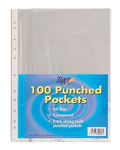 tiger-a4-strong-transparent-poly-punched-pockets-x-100-sleeves-wallets