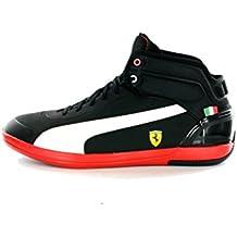 Puma - Zapatillas de material sintético para hombre negro negro