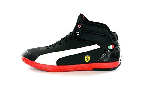Puma SF Ferrari Driving Power Light schwarz EUR 40,5 UK 7 Mid High Sneaker Stiefel Schuhe