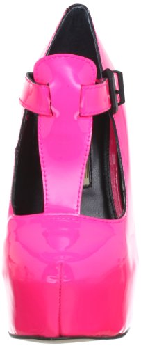 Buffalo London 22963-917 PATENT 140178 Damen Pumps Pink (PINK169)