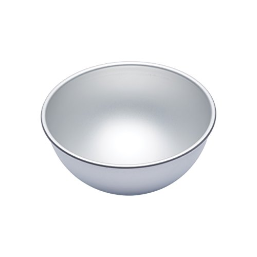 Ideal for making a variety of fun shaped cakes that will really stand out;Seamless design makes smooth half spheres, or you can bake two cakes and create a whole sphere - check out our images for inspiration;Silver anodising process creates protectiv...
