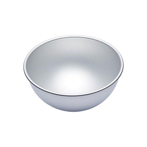 MasterClass  MCSA21 Halbkugel-Kuchenform, Harteloxal, silber, 20 x 20 x 10 cm Und Kuchenform