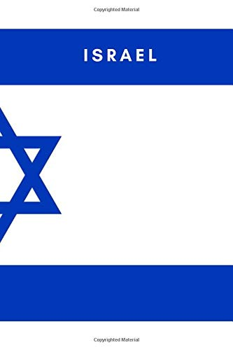 Israel: Country Flag A5 Notebook to write in with 120 pages